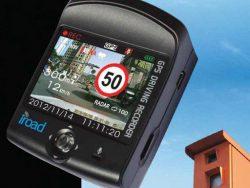 גלאי מכמונות IROAD QUATRRO FULL 4S HD כולל מצלמה