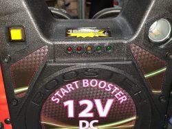 בוסטר התנעה מקצועי 12V 1600A יחידת כוח ניידת
