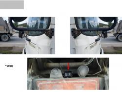 מצלמת אבטחה לרכב F100